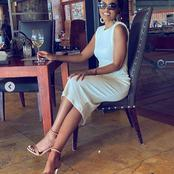 Khaya Mthethwa's ex wife's recent picture causes a frenzy with her fans.