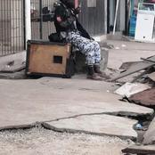 Adjamé-220 logements : un malade mental aperçu en tenue de la police nationale