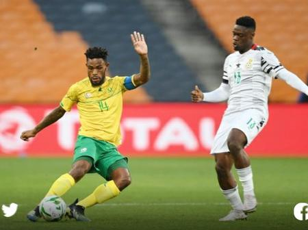 Bafana drop points at home to Ghana
