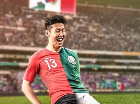 Do You Why the Tottenham Star, Son is Loved by Most Mexicans? See The Real Reason
