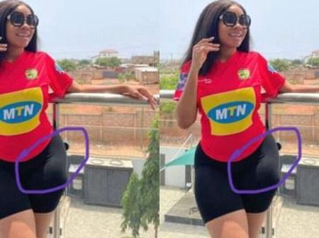 Photos: 4 Ghanaian Female Celebrities Who Has Been Caught Several Times Wearing Hip Pads.