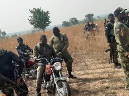 Bad Day For Bandits In Kaduna State, See What Nigerian Troops Did To Them