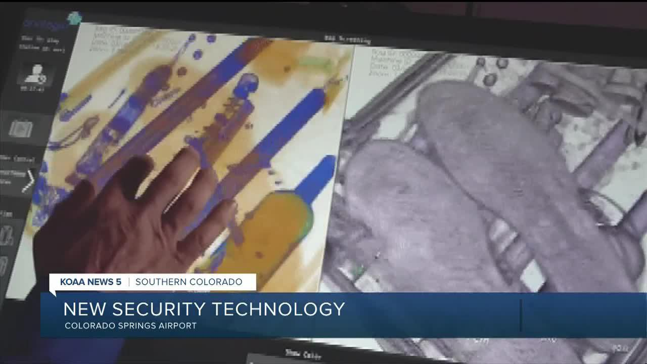 Colorado Springs Airport using new security technology