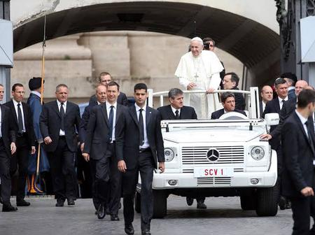 Nobody can join the squad that guides Pope Francis without having all these requirement