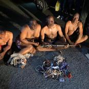 Ahead Of PDP South-West Zonal Congress—Police Arrest Thugs With Guns, Charms In Osogbo [VIDEO]