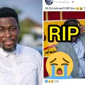 """Jesus When Did This Happen""- Ghanaians React To Sad News Coming From Kwame A-Plu𝙨"