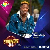 Check out the guest on showbiz 360