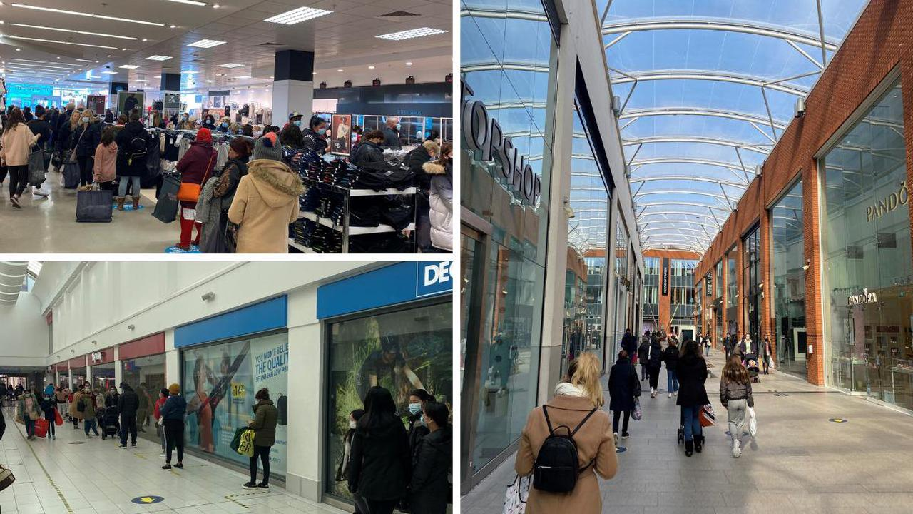 PHOTOS: Busy Eden Centre as shops reopen