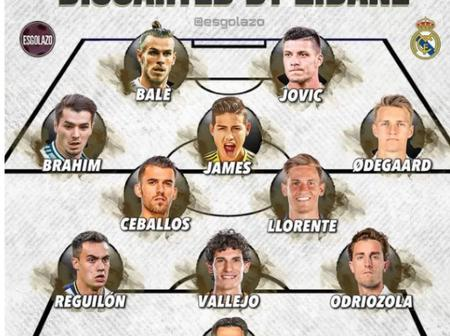 Every Player Discarded By Zidane For Each Position