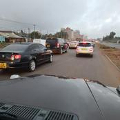 Traffic Update On Major Roads In Nairobi City This Monday Morning