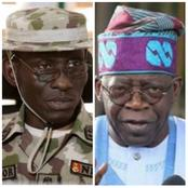 Today's Headlines: Nigeria Will Have Peace Again, Irabor Vows, Don't copy Vagabonds, Tinubu Speaks