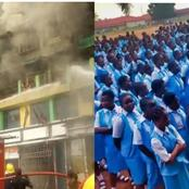 Staff And Students Mourn As 20 Students Die In A School Fire Outbreak