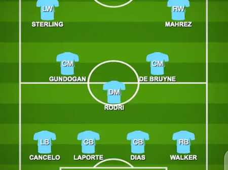 Opinion: If Guardiola doesn't use either of this formation today, I wouldn't support Man City again