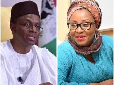 After El-Rufai Said He Will Not Pay Ransom To Bandits If His Son Is Abducted, See What His Wife Said