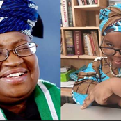 See How Ngozi Okonjo-Iweala Reacted to The Pictures of the Little Girl Who Modelled Her Dressing