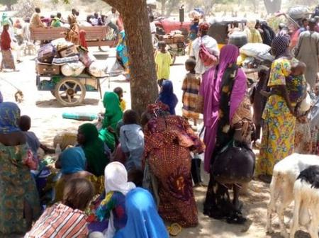 BokoHaram: Over 100,000 residents displaced to Niger Republic after Borno attacks