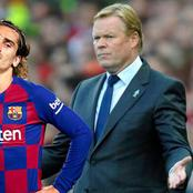Koeman Reveals Why He Benched Griezmann In Barca's Win Against Sevilla