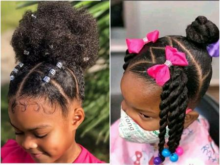 Simple and easy holiday hairstyles for kids that you will love