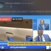 Guillaume Soro sur Afrique média: «Je n'accepterai jamais de faire un deal pour entrer dans mon pays»
