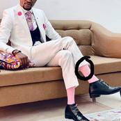 Le Révérend Wilfried Zahui s'affiche avec des chaussettes