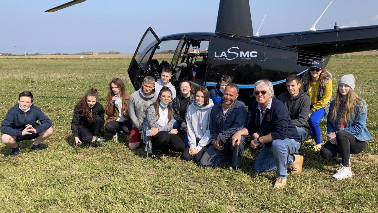 Quinze collégiens du Boulonnais initiés à l'aéronautique découvrent d'autres horizons