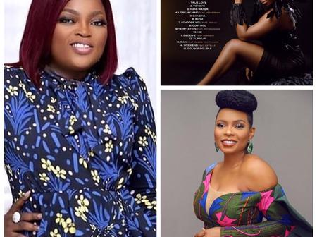 See Actress Funke Akindele's Reactions To Yemi Alade Soon To Be Released Album,  Empress