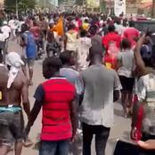 Agboville: des populations dans les rues pour protester contre la victoire de Bictogo
