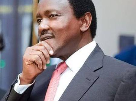 Kalonzo Under Fire After Committing The Following Online Blunder