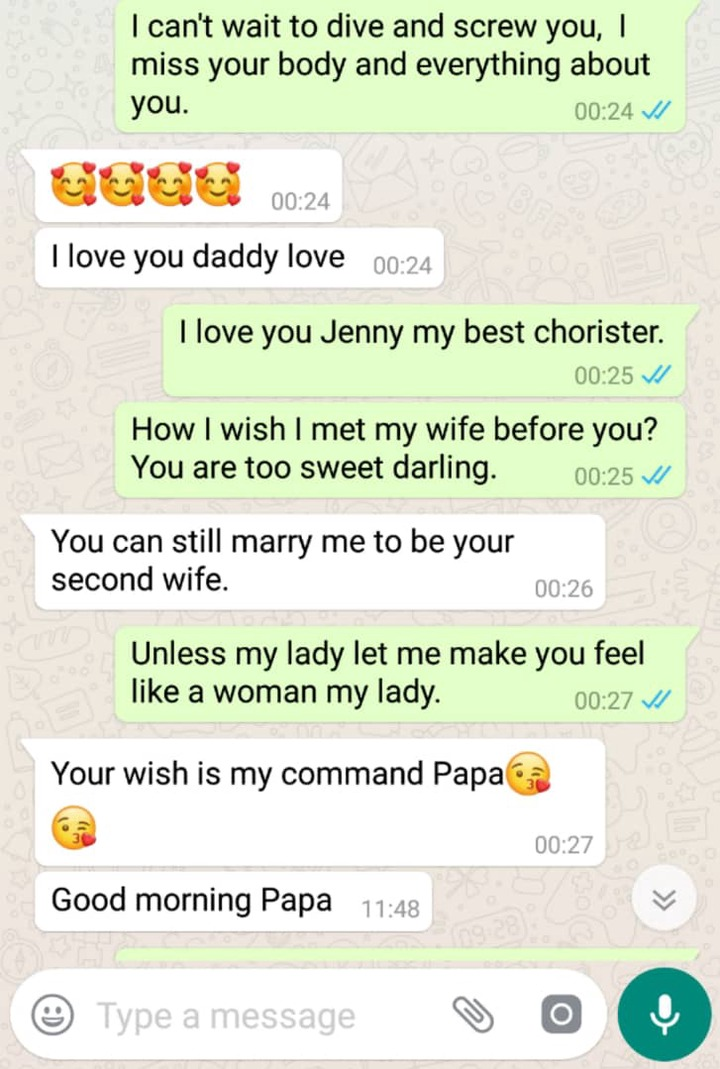 🔞 Romantic Conversion between Pastor And Chorister/Side Chick Exposed. 3