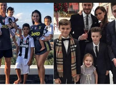 Family First: Five Famous Footballers Who Are So Proud Of Their Families. (Pictures Below)
