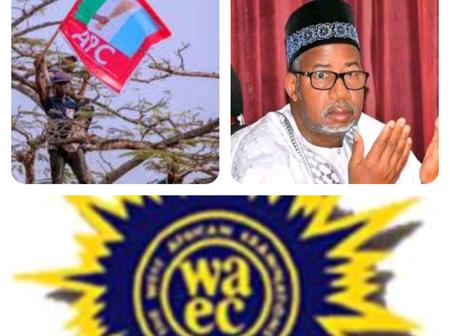 Today's Headlines: APC Stole ₦1.4billion In Bauchi State- Gov. Bala; WAEC Denies Postponing Exams.