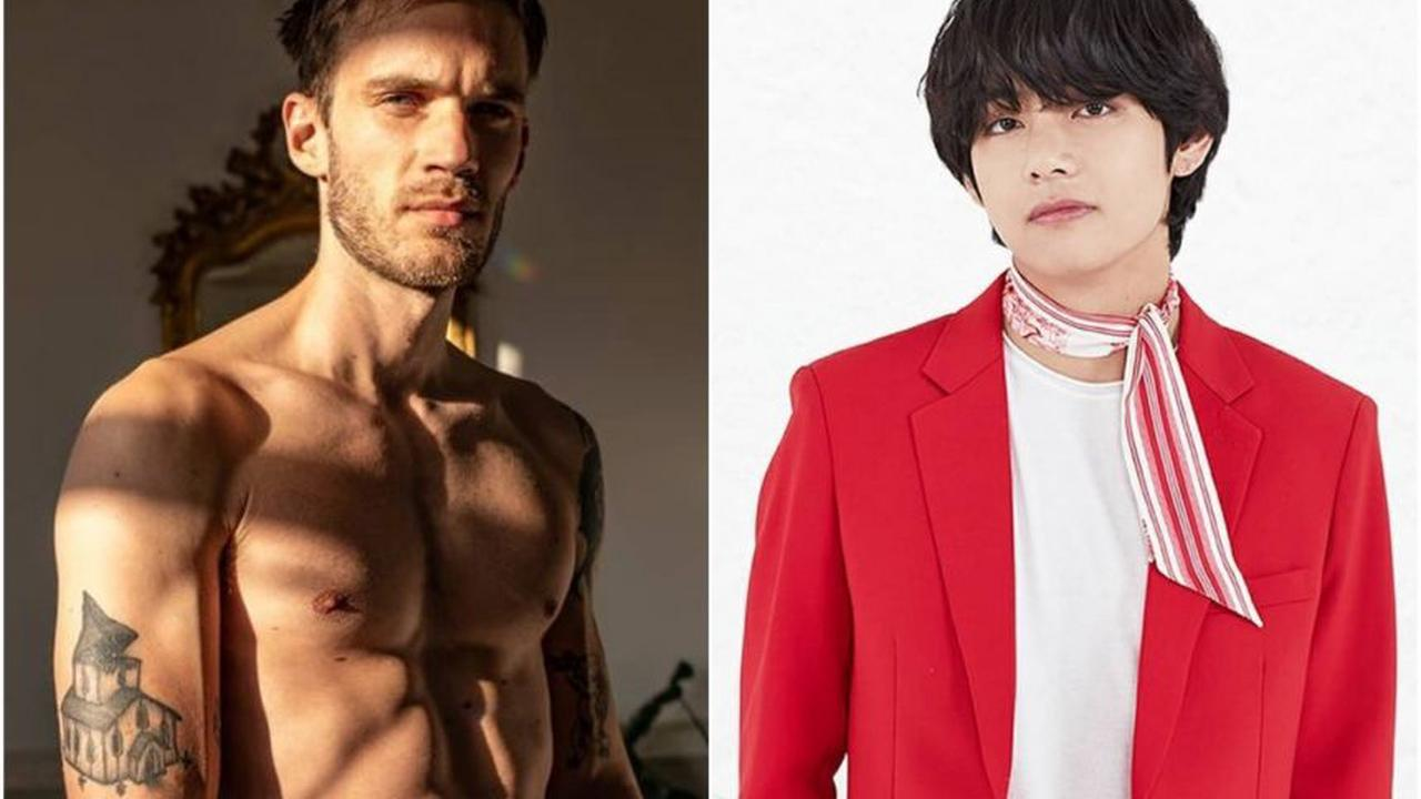 YouTube star PewDiePie beats BTS' Kim Tae-hyung to top spot of The Most Handsome Face of 2020
