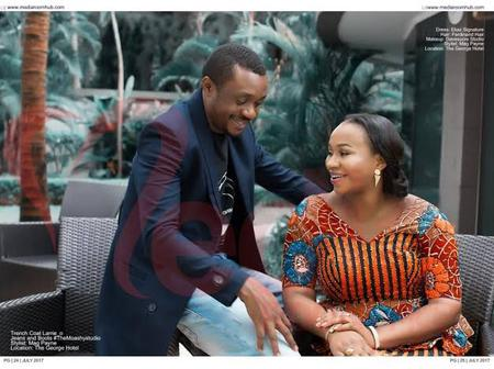 Check Out Romantic Photos Of Popular Singer, Nathaniel Bassey And His Wife
