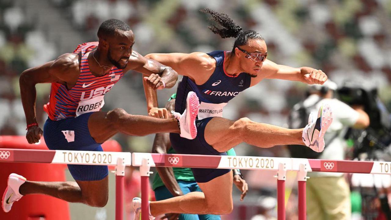 Jeux Olympiques – Athlétisme (110 Haies). Martinot-Lagarde et Manga en finale