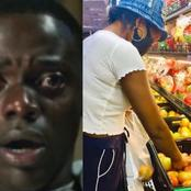 Man Broke Down In Tears After His Girlfriend Used Her Money To Buy Foodstuffs For Him