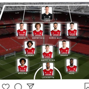 After Arsenal Won Leicester City 1-3, They Could Win Their Next Four EPL With This Lineup