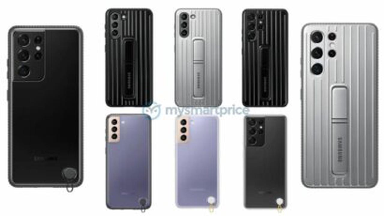 Galaxy S21 Official Cases Smile for the Camera in These Official Renders