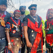 Photos of Itele Icon, Laide Bakare, Segun Ogungbe, others on the set of 'Amotekun'