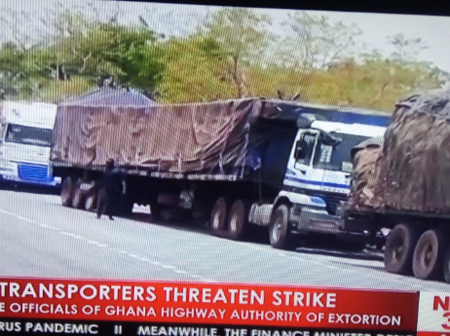 Danger Looms As Haulage Transporters Threatened Strike Over Extortion