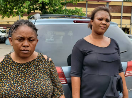 (Photo) : Faces of Two Nigerian Women, Who Are Accused of Killing a 64 Year Old Man