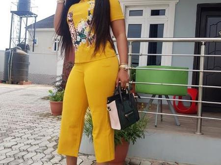 Lovely Photos Of Toke Makinwa, Mercy Aigbe And Other Celebrities Slaying In Yellow