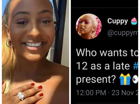 Billionaire's daughter, DJ Cuppy begs for iPhone 12 as birthday gift, see mixed reaction from fans