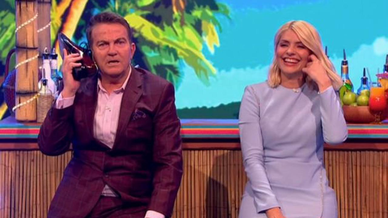 Holly Willoughby in hysterics as Take Off co-host Bradley Walsh suffers on set blunder