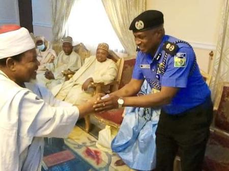 New Kano State Commissioner Of Police Meets Leaders Of Tijjaniyya (Photos)
