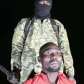 Moments after he was released by Boko Haram, see what the pastor said