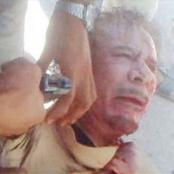 Gaddafi's Last Words Begging For Mercy Before His Untimely Painful Death