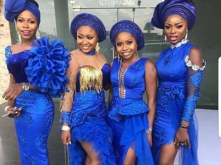 Stunning Lace Asoebi Squad Inspirations