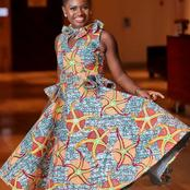 Seven Lovely Pictures of Martha Ankomah in Native Attires