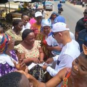 Michel Gbagbo se rend au marché de Yopougon et explique aux femmes comment elles doivent  voter!