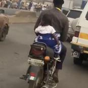 See What This Man Was Spotted Doing In Ibadan [VIDEO]